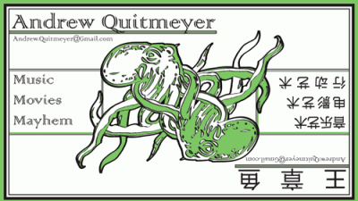 Business Card - Chinese Octopus