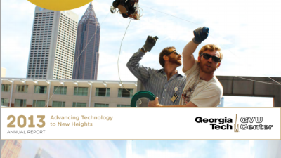 Ascent Project Featured on GVU Annual Report Cover